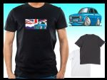 KOOLART CLASSIC BRITISH Design for Retro Mk1 Escort Mexico mens or ladyfit t-shirt